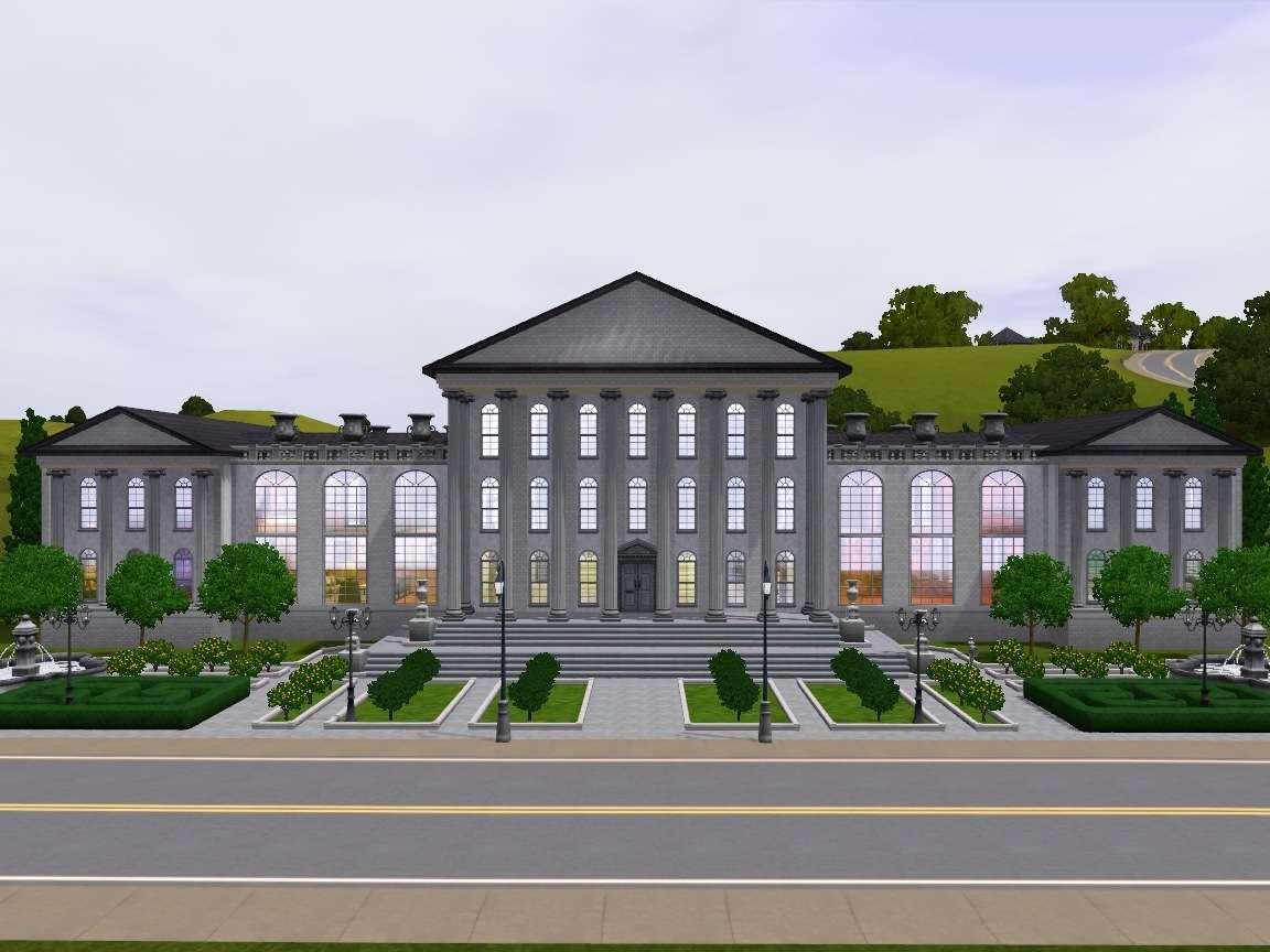 Mod Sims Venus Mansion