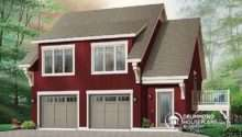 Model Garage Apartment House Plan Bedrooms Open Floor