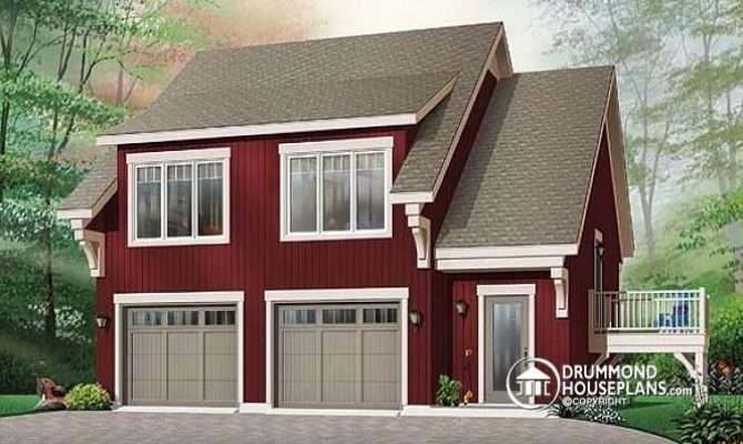 Model Garage Apartment House Plan Bedrooms Open Floor