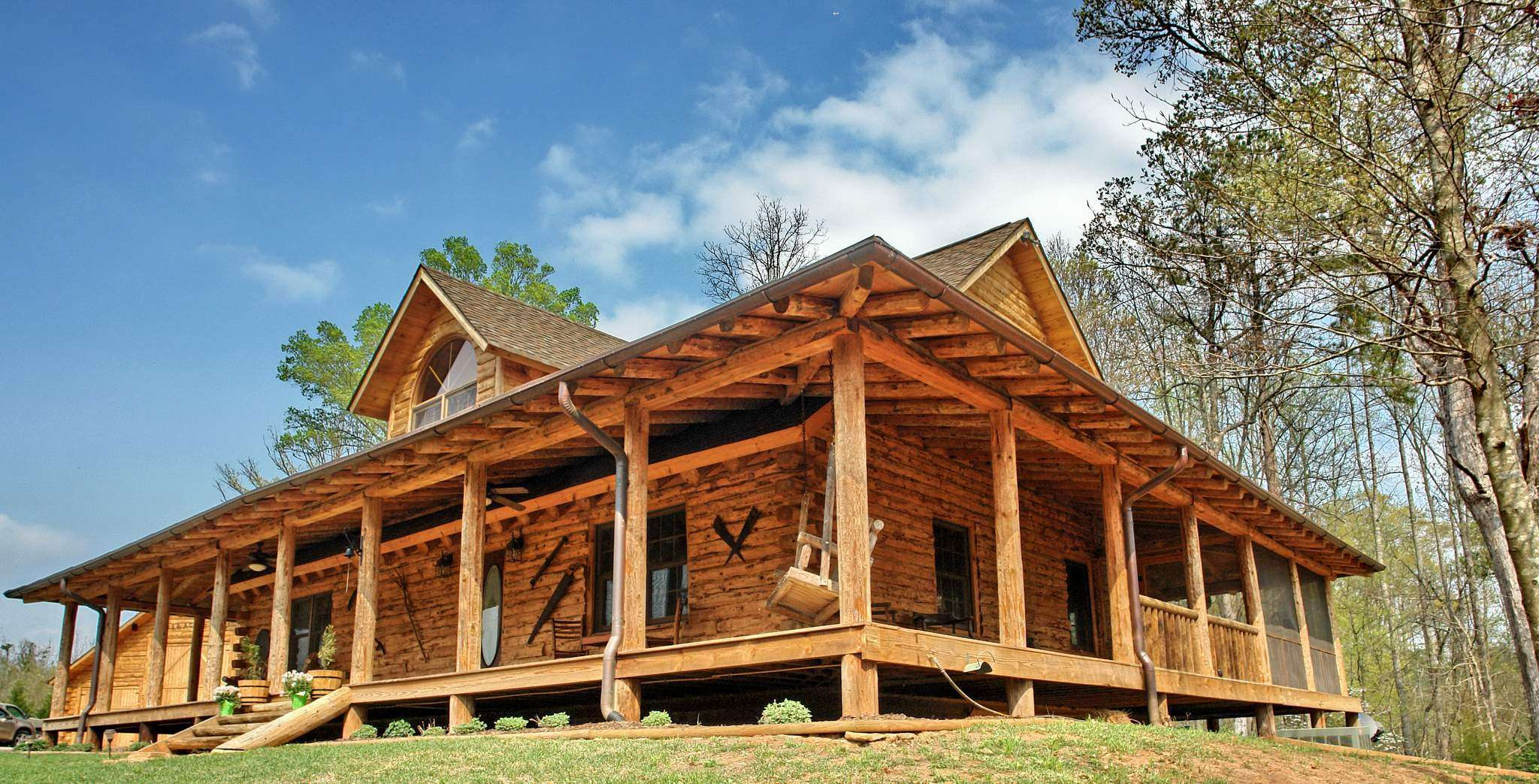 Model Home Country Rustic Dream