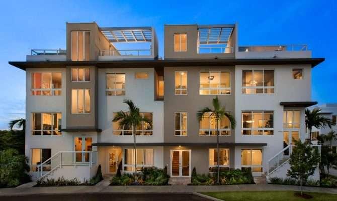 Model New Home Plan Landmark Story Townhomes Lennar