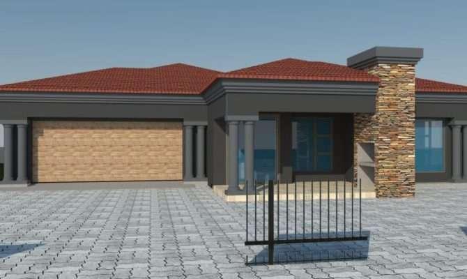 Modern African House Plans Elegant Bedroomed