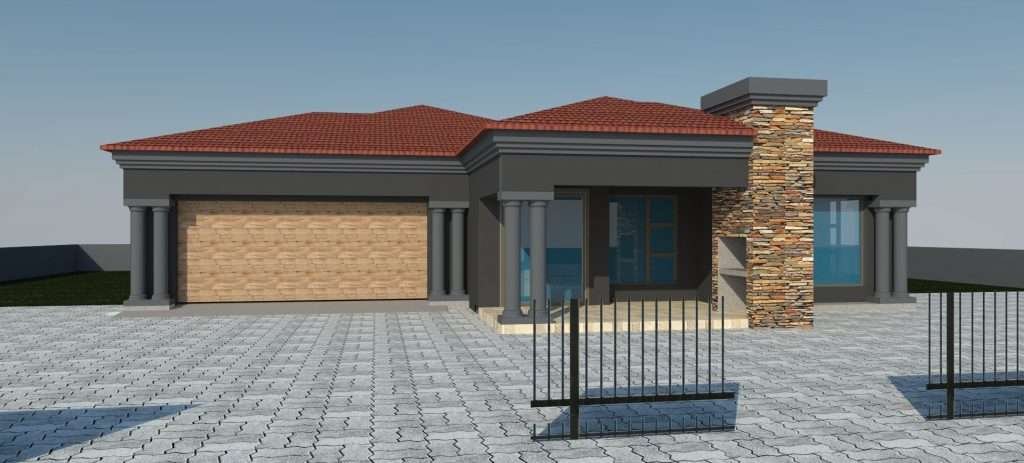 Modern African House Plans Elegant Bedroomed