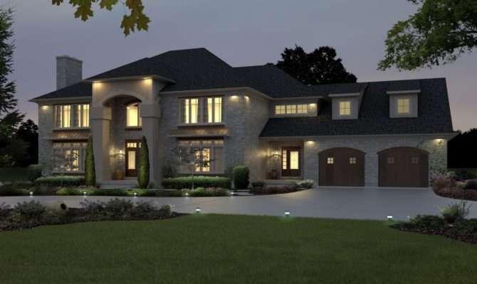Modern American House Designs Homes Floor Plans