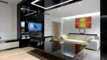 Modern Apartment Interiors Cero Home Theater Design