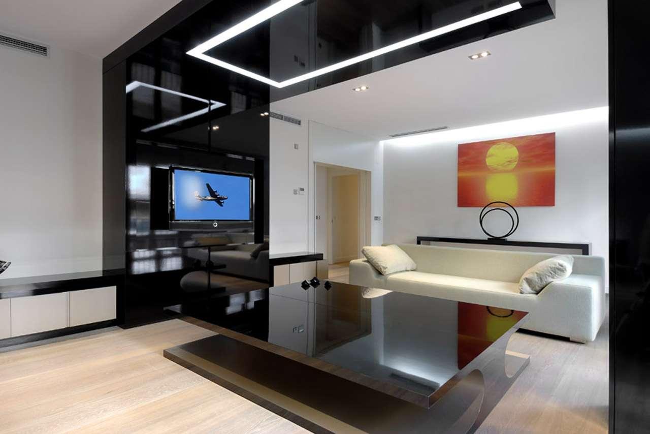 Modern Apartment Interiors Cero Home Theater Design
