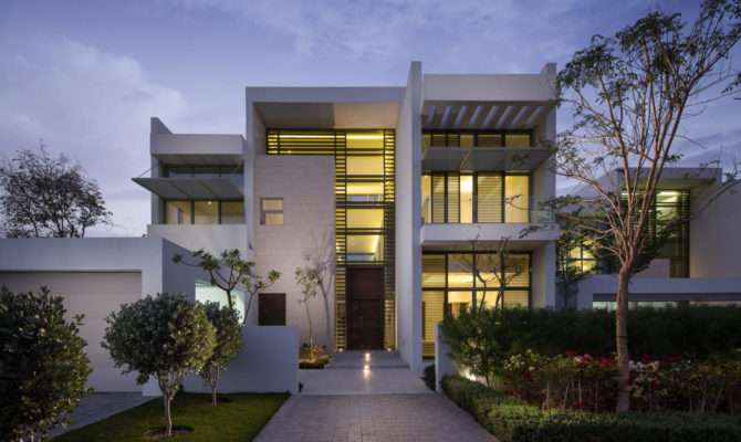 Modern Architecture Residential House Style Plans