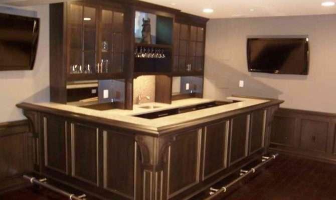 Modern Basement Bar Designs Enhancedhomes