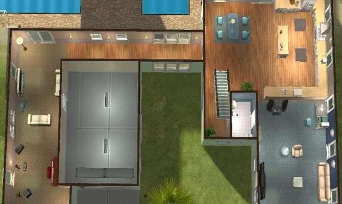 Modern Beach House Ground Floor Plans Cabin Coastal Home
