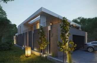 Modern Brick Exterior