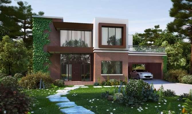 Modern Brick House Biz Kong Deviantart