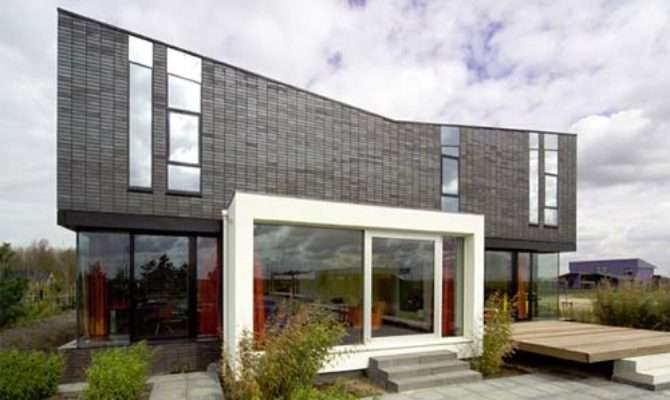 Modern Brick House Design Comfort Minimalist Style