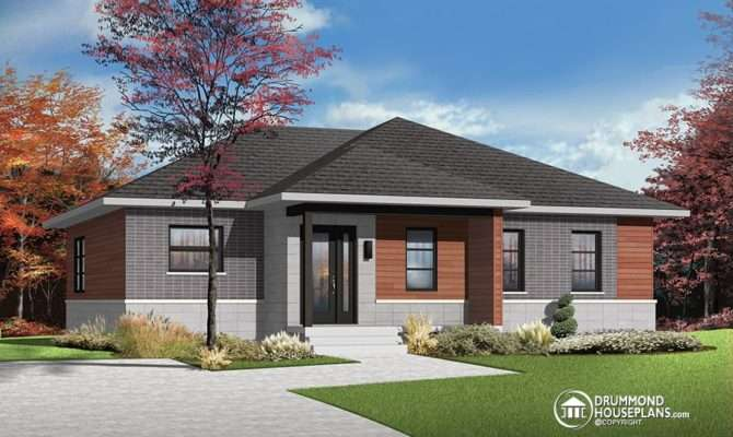 Modern Bungalow House Designs Erindale Open Concept