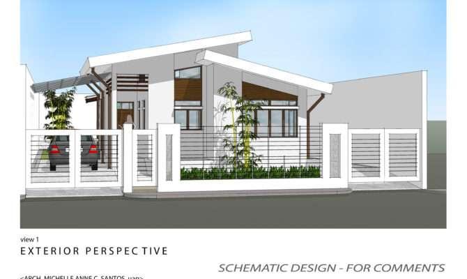 Modern Bungalow House Exterior Design Zen
