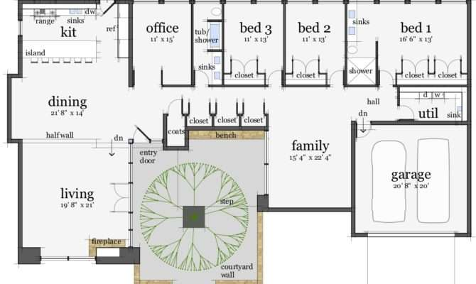 Modern Castle Floor Plans Midcentury Hpc