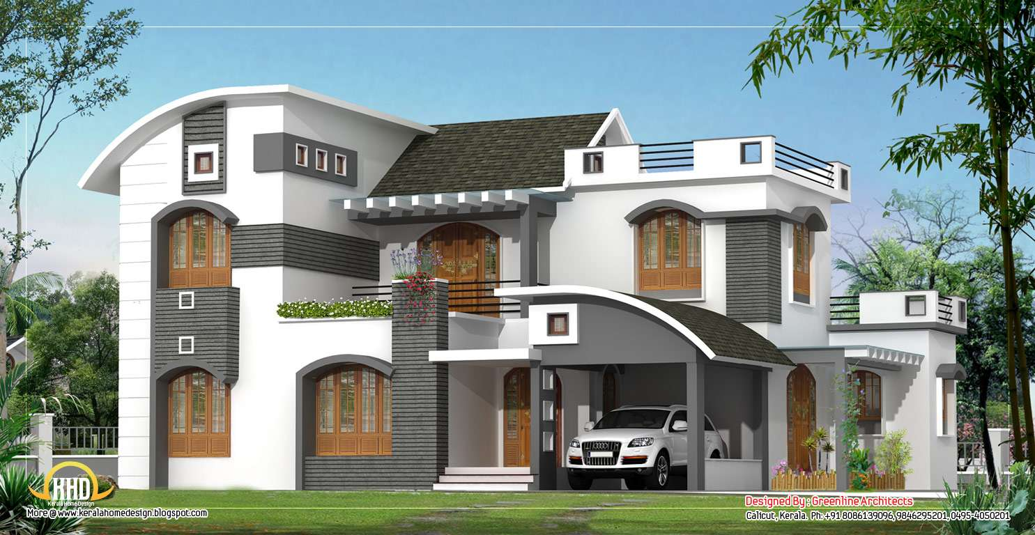 Modern Contemporary Home Design Square Meter