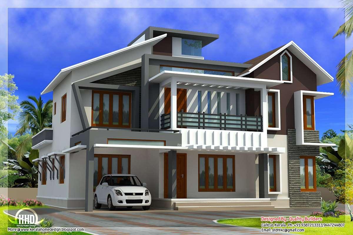Modern Contemporary Home Feet Kerala