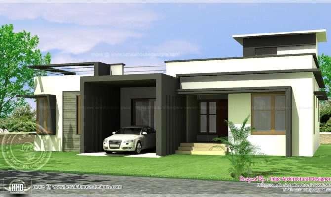 Modern Contemporary Single Story House Plans Home Deco