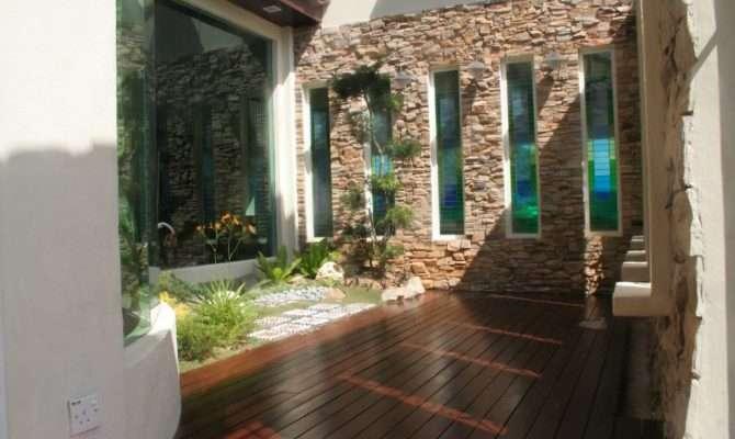 Modern Courtyard House Design Youtube