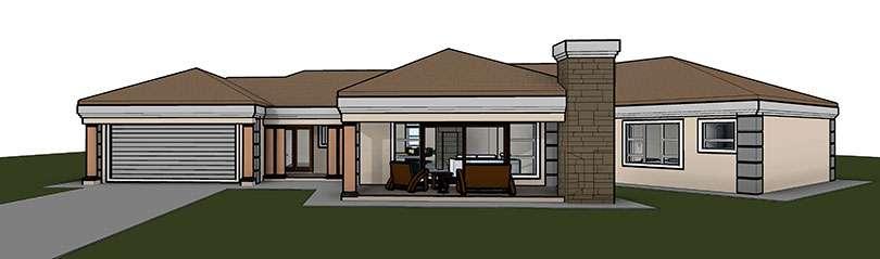 Modern Craftsman Home House Plans