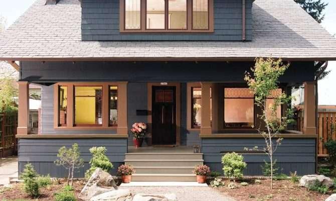 Modern Craftsman Style House Interior Design