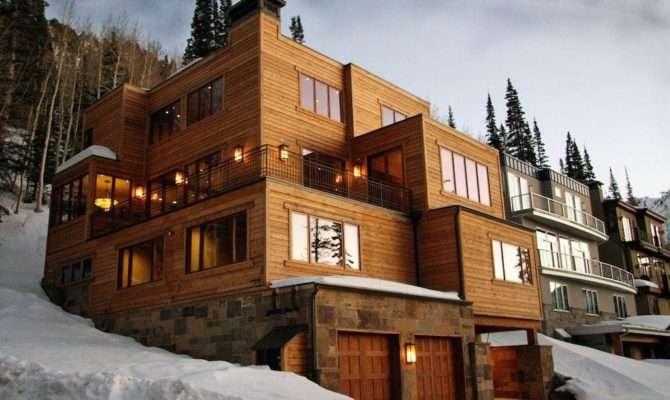 Modern Craftsman Style Ski Home Between Alta Snowbird Blackjack