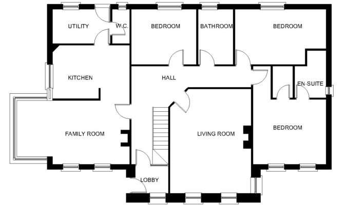 Modern Dormer Bungalow Designs Thornbury Houseplansdirect