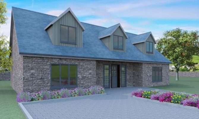 Modern Dormer Bungalow Designs Whiteley Home Plans