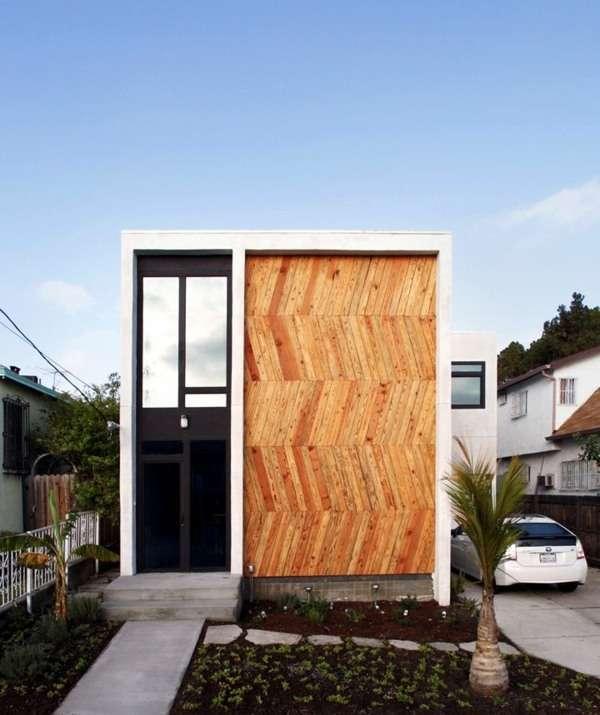 Modern Facade Cladding Impressive House Character