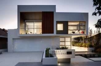 Modern Facade Contemporary Style One Grovedale Home Mick Rule