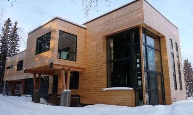 Modern Fairbanks Architecture Not Limited Log Cabins Vinyl Siding