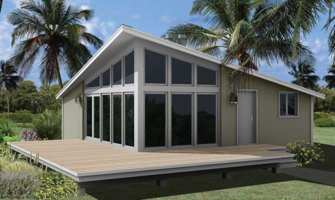 Modern Frame House Plans Small