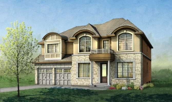 Modern French Provincial House Plans