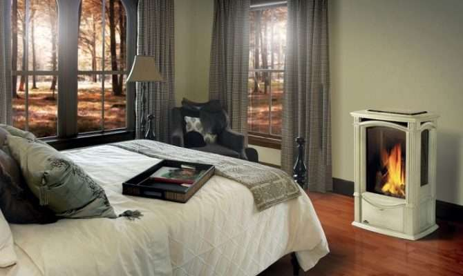 Modern Gas Fireplace Bedroom Ideas Keep Warm Tidy