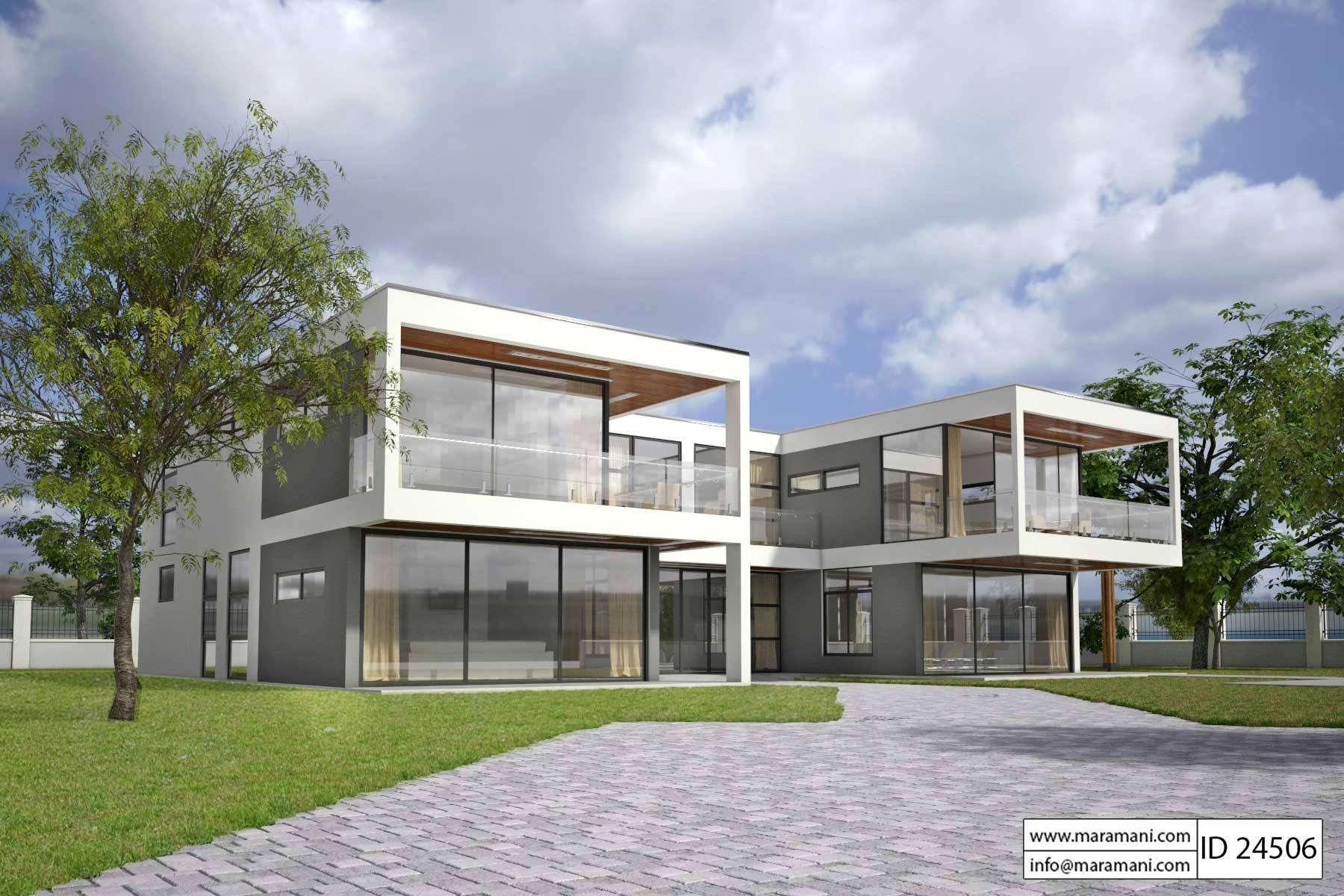 Modern Glass House Design Plans Maramani