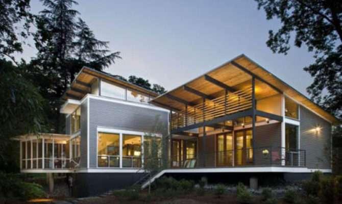 Modern Green Architecture Home Davis Studio