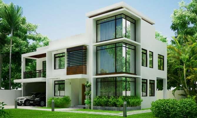 Modern Green Home Design