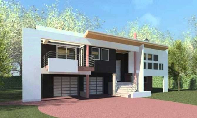 Modern High Ranch House Plans Design Office