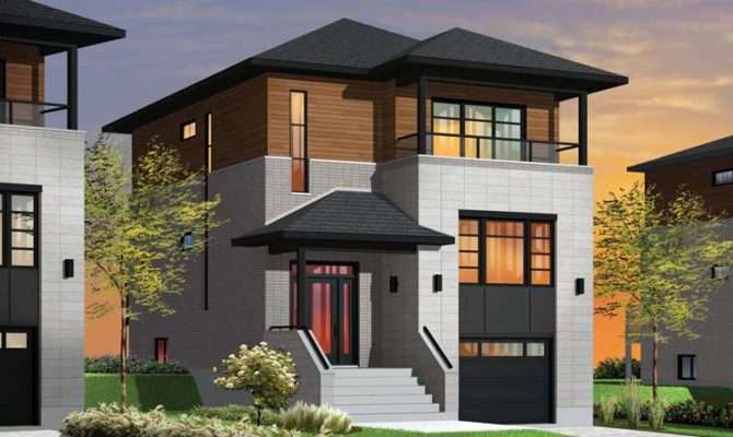 Modern Hillside House Plans