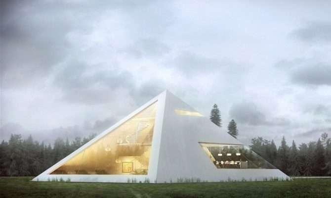 Modern Home Designs Like Box Shaped Metallic House Abstract