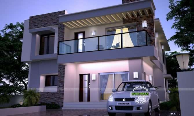 Modern Home Kerala Design Floor Plans