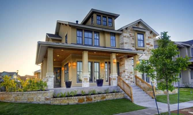 Modern Homes Designs Front Views Texas