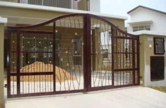 Modern Homes Iron Main Entrance Gate Designs Ideas Home