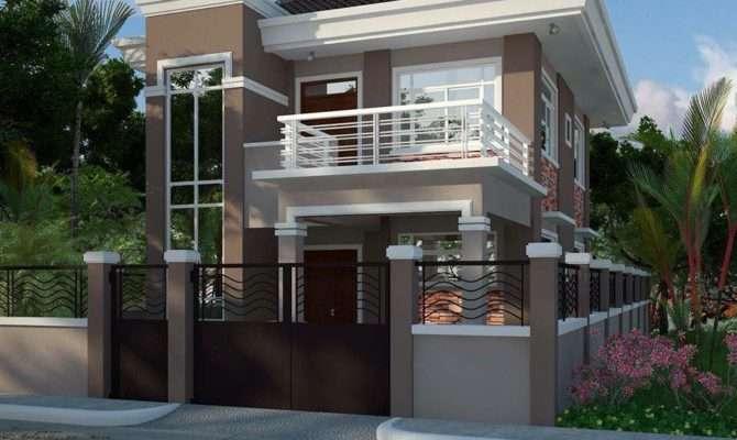 Modern House Balcony Home Design