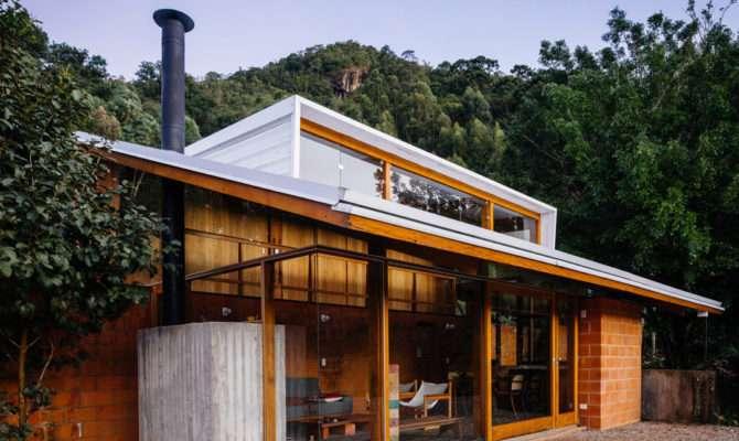 Modern House Built Slope