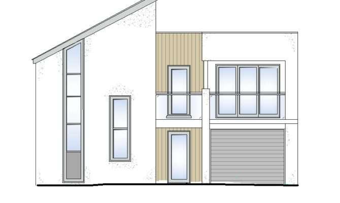 Modern House Cad Drawings Cadblocksfree Blocks
