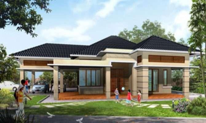 Modern House Design Single Storey
