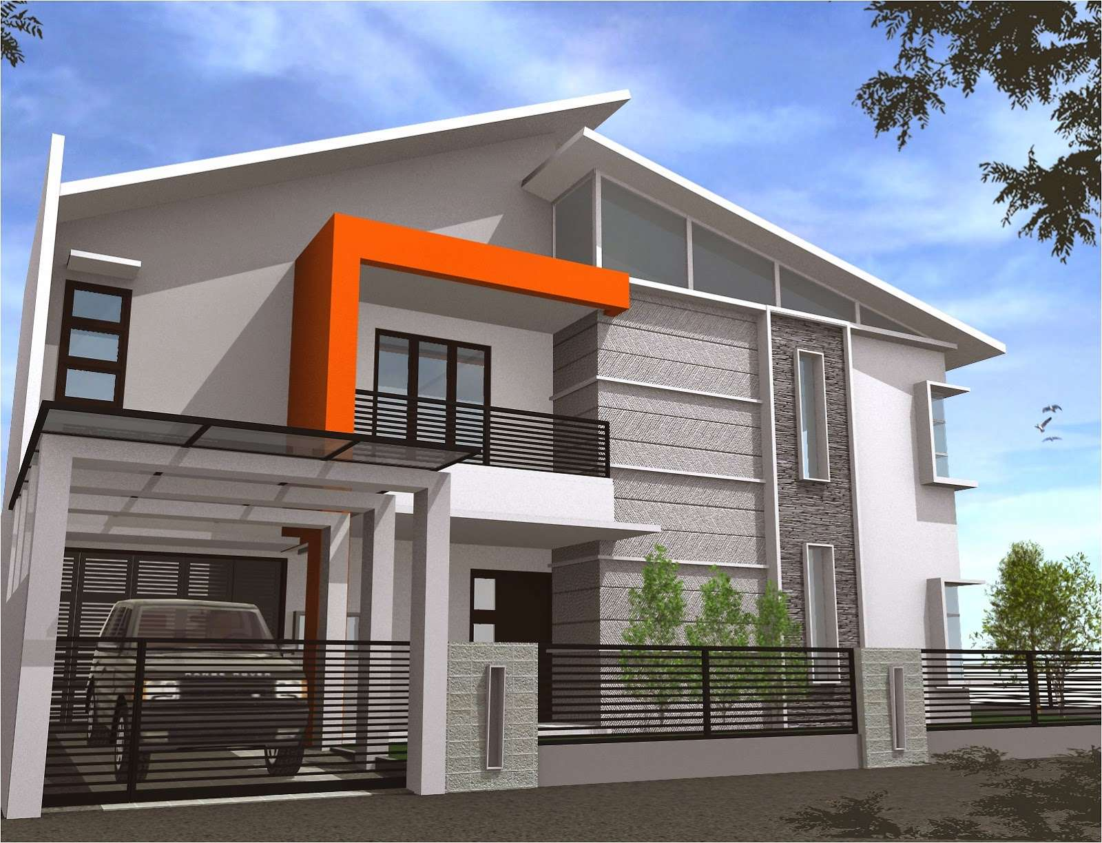 Modern House Designs Floor Plans