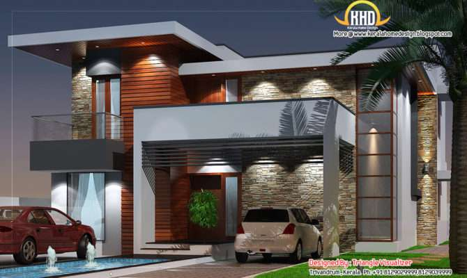 Modern House Elevation Home Appliance