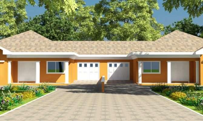 Modern House Floor Plans Ghana Uganda Cameroon More